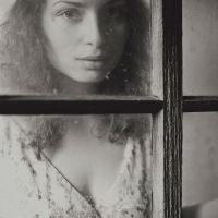 Helena by the window by Catliv