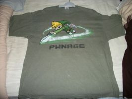 Toon Link T-shirt by extraphotos