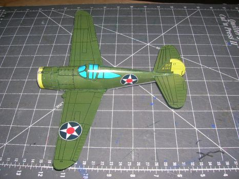 Papercraft P36 Hawk 2 by falcon01