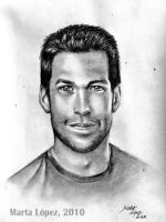 JAMES DENTON as MIKE DELFINO by martalopezfdez