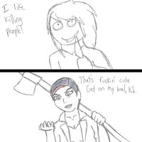 Jeff ain't got shit on Bloody Mary. by ChildofAura