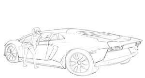 Aventador by CakeHoarder