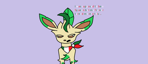 Feliciano the Leafeon by PlasmaGirlDelilah