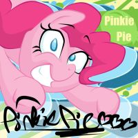 Pinkie Pie - Autograph Series by whatchyagonnado