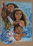 DISNEYS MOANA by ARTIEFISHEL79