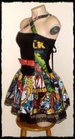 Marvel Comics Mini Dress by annaladymoon