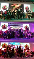MARVEL WITH THE PSY COSPLAY by YEYINGdynasty