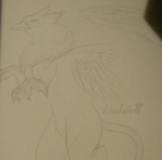 Gryphon by LotusFoxfire