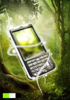 in the jungle - mobilephones by crcunltd