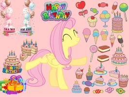 Happy Birthday Fluttershy by FluttershyPony4444