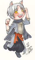 OOC Copic Shirogane Chibi by chiyokins