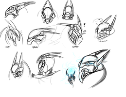 Ultron expressions by Wolf-Shadow77