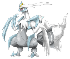 White Kyurem by Ryan-sprite