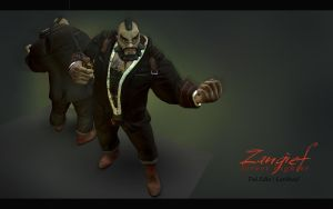 Zangief - Brawl II by Larkbeef