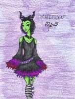 Maleficent by GloomyPippi