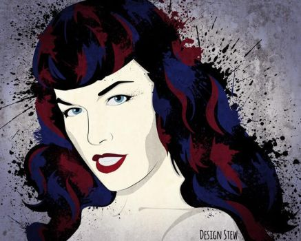 Bettie Page by designstew