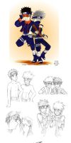 ObitoXKakashi Drafts by elizarush