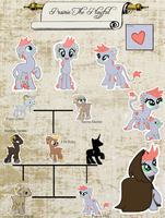 Prairie The Playful Reference Sheet by whyhaley