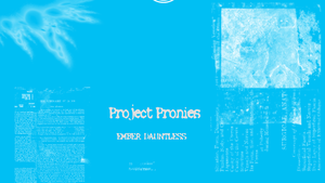 Project Pronies Ember Wallpaper by jonnydash