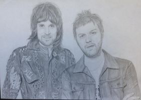 Kasabian (Tommy and Sergio) by CamilaWay