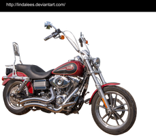 Harley Davidson Dyna Low Rider by Lindalees