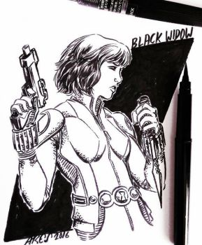 Black Widow by Paterdixit