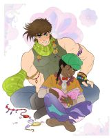 Joseph and Smokey by Autumn-Sacura