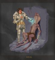 Heal Spell by Jumpei