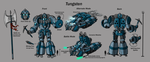 Tungsten Character Sheet Color by Laserbot