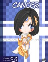Chibi Zodia girls - Cancer by Komi-xi