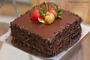 Chocolate mousse cake 1 by patchow