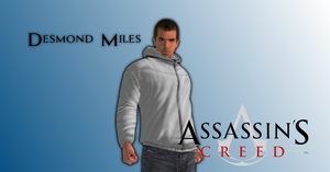 Assassin's Creed I - Desmond Miles by o0Cristian0o