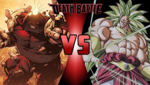 DEATH BATTLE: Juggernaut vs Broly by G-Odzilla
