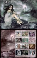CALENDER: Fantasy Ladies by elisafox