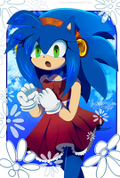 :gift: Sonamy child - Speedie by koda-soda