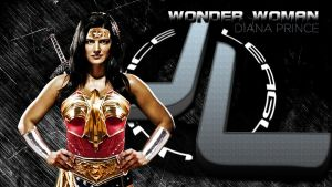 JL Banner Wonder Woman by zviray