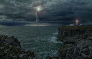 The Storm.. by AledJonesStockNArt