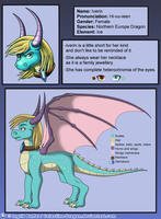 Iverin ref V2 by Celestine-Dragon