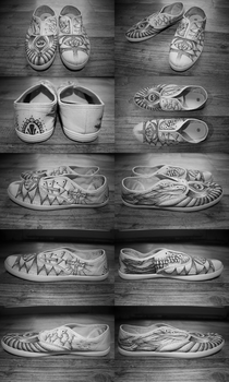 Dotwork Boots by Darin69