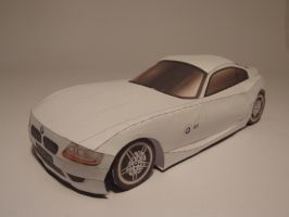 BMW Z4 Coupe - Papercraft by JouzuMania