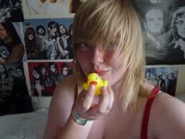 Me and my ducky... by TheStarInYourEyes