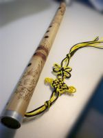 Traditional Handmade Flute by gilbert25