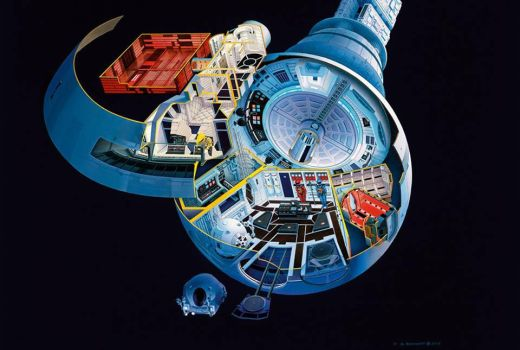 Discovery Cutaway by sbk1234