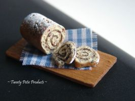 Cinnamon Raisin Bread Loaf by birdielover