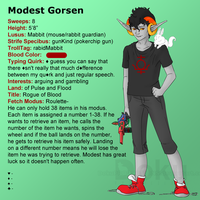 old profile of modest by DokuPRODUCTIONS