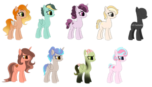 MLP Adopts - CLOSED by Elemes