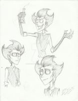 Don't Starve: Tim Burton Wilson by DreamWithinTheHeart