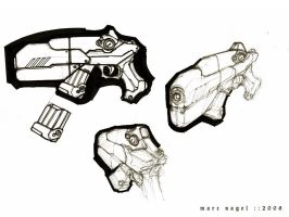weapon sketch by marcnail