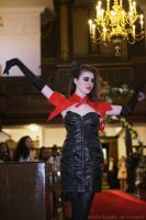 KiKa Holanda fashion show at 'I Love Runway' event by Make-upArtist