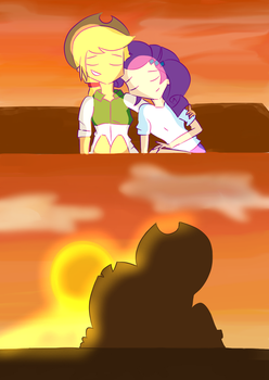 Seeing the Sunset by noahther